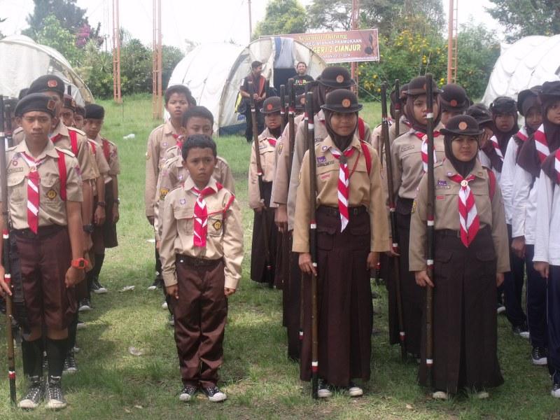 Impeeza : Pramuka di SMP Negeri 2 Cianjur