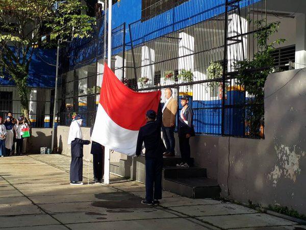 Bhakti Alumni dalam Upacara Bendera Hari Senin